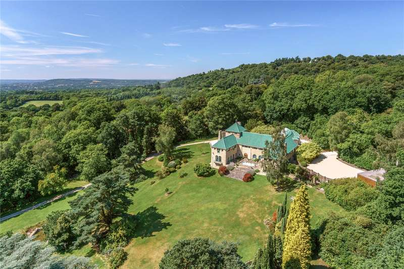 6 Bedrooms Detached House for sale in Pitch Hill, Ewhurst, Cranleigh, Surrey, GU6