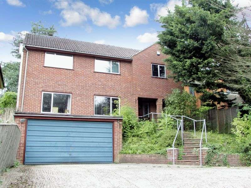 4 Bedrooms Detached House for sale in Benham Hill, Thatcham