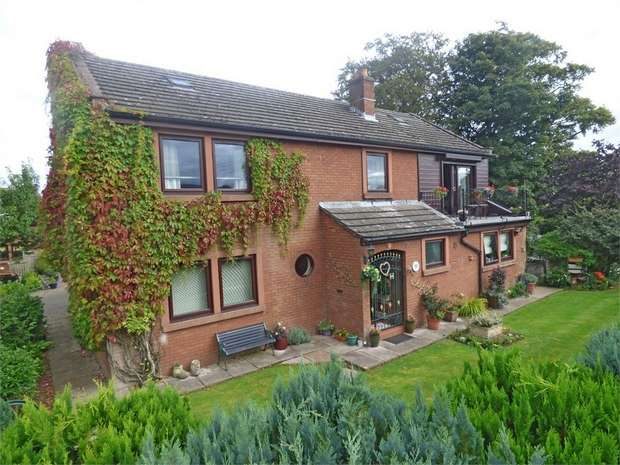 4 Bedrooms Detached House for sale in Rockcliffe, Carlisle, Cumbria