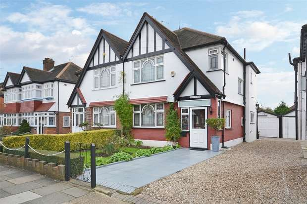 Semi Detached in  The Fairway  Wembley  Middlesex  HA0  Richmond