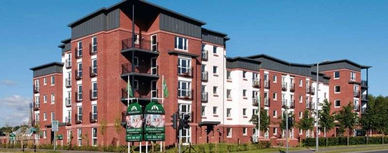 2 Bedrooms Retirement Property for sale in 54 Kingsferry Court, Renfrew, PA4 8RB