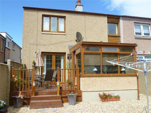 2 Bedrooms End Of Terrace House for sale in Ailsa Drive, Stevenston
