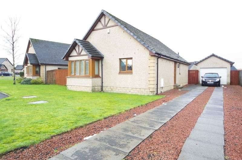 3 Bedrooms Detached Bungalow for sale in 20 Burnside Terrace, Addiewell, West Calder, West Lothian, EH55 8NE