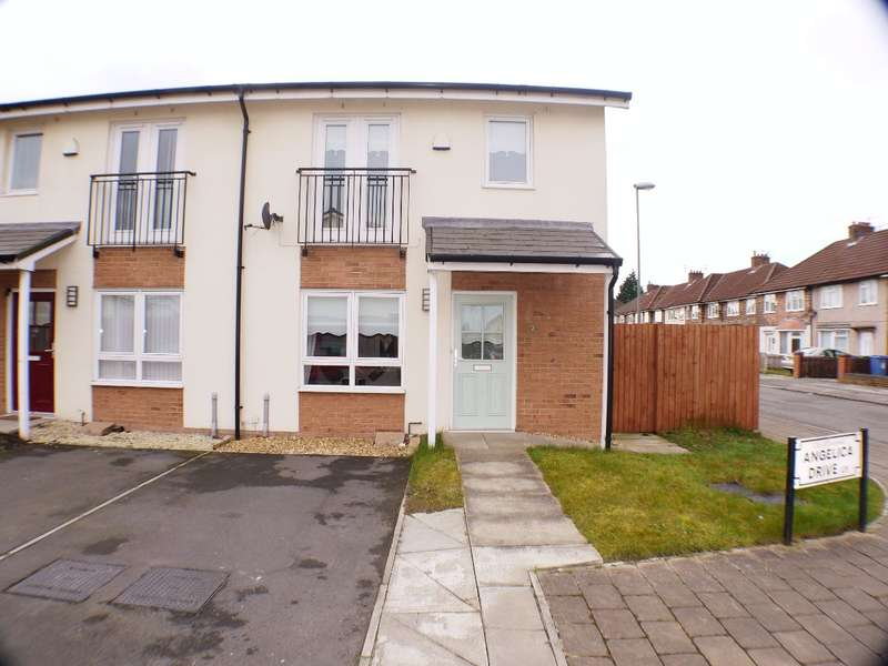 2 Bedrooms Semi Detached House for sale in Angelica Drive, Liverpool, L11 2YG