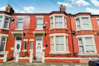 4 Bedrooms Terraced House for sale in Hampstead Road, Liverpool, Merseyside, L6
