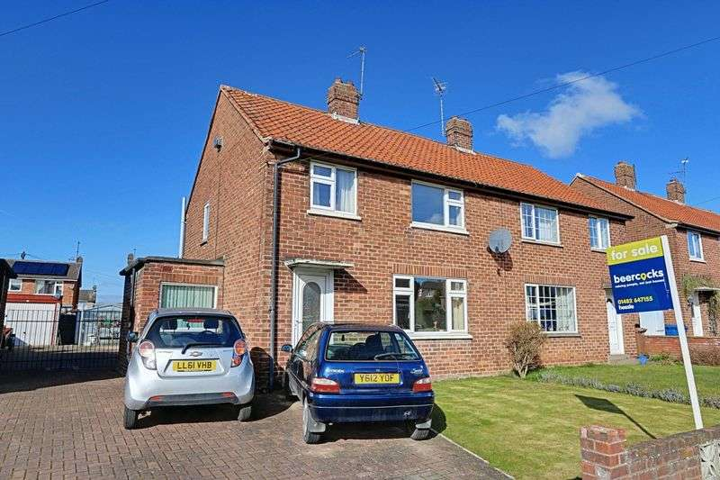 3 Bedrooms Semi Detached House for sale in The Oval, Brough
