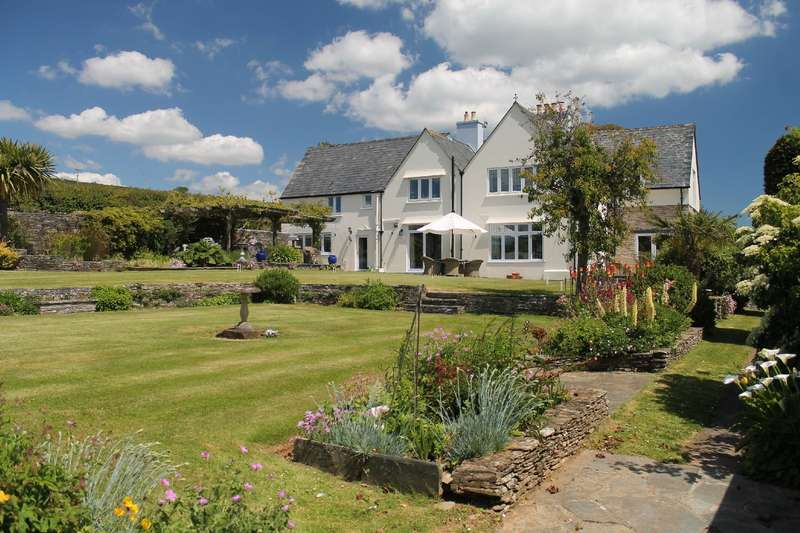 6 Bedrooms Detached House for sale in The Croft, South Milton, Kingsbridge