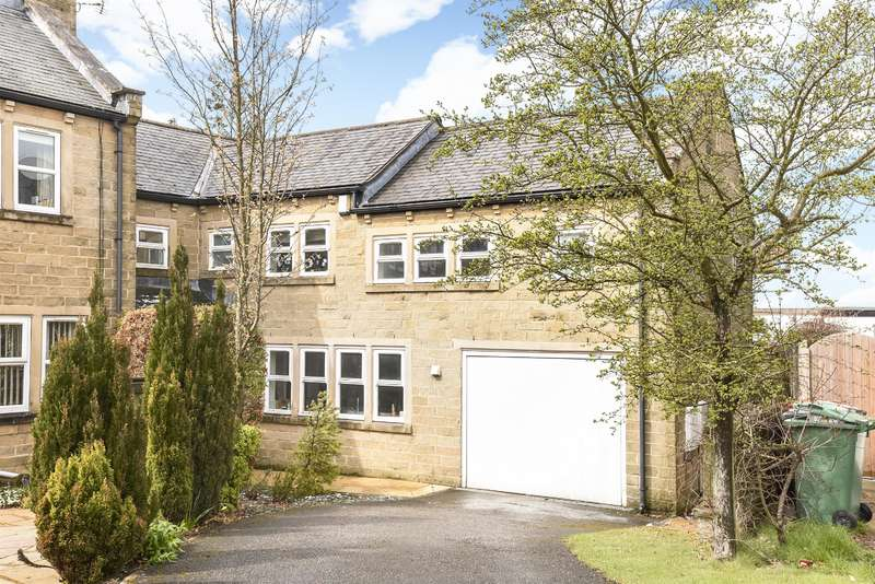 4 Bedrooms Semi Detached House for sale in Old Forge Mews, Bramhope, Leeds, LS16 9HD