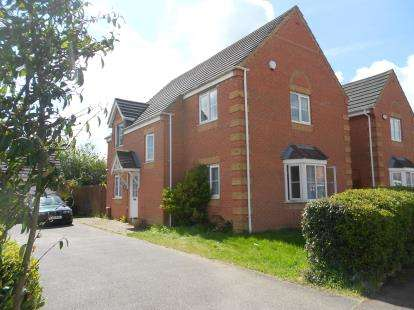 4 Bedrooms Detached House for sale in Sunderland Place, Shortstown, Bedford, Bedfordshire