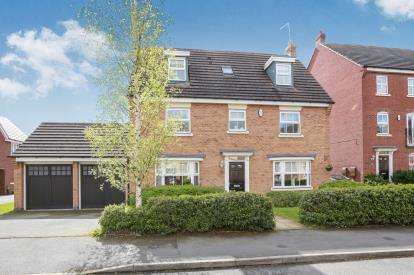 6 Bedrooms Detached House for sale in Hough Way, Essington, Wolverhampton, Staffordshire