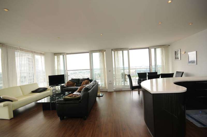 3 Bedrooms Flat for sale in Oxygen Apartments, Royal Docks, E16