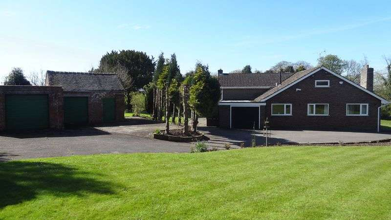 6 Bedrooms Detached Bungalow for sale in The Croft, Milwich