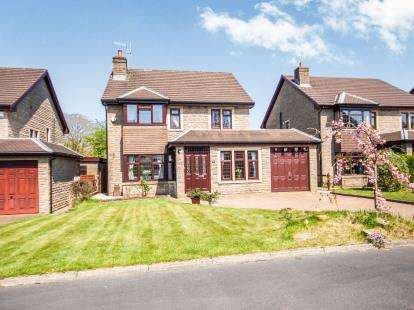 4 Bedrooms Detached House for sale in Archery Avenue, Foulridge, Colne, Lancashire, BB8