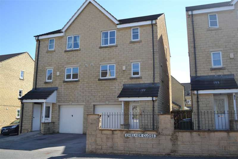 4 Bedrooms Semi Detached House for sale in Chelker Close, Westwood Park, Bradford
