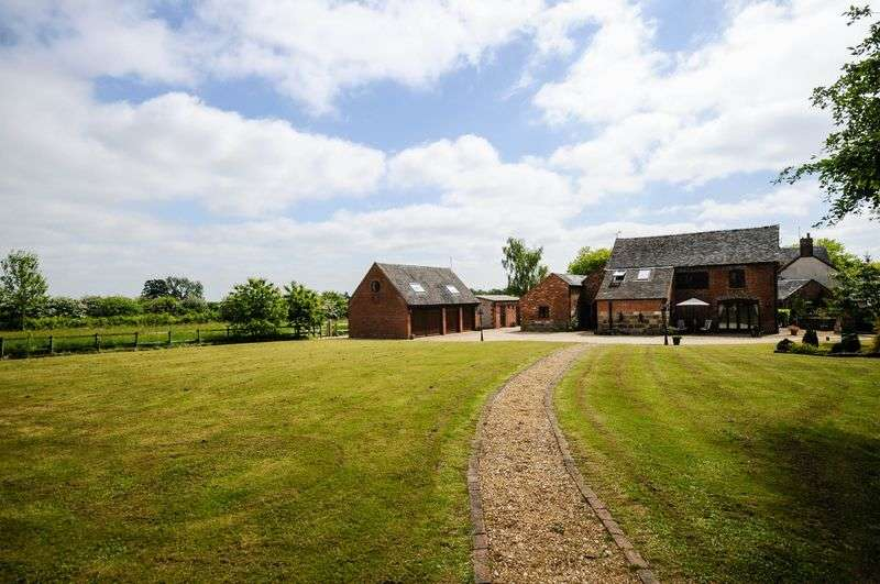 5 Bedrooms Detached House for sale in Beamhurst, Uttoxeter