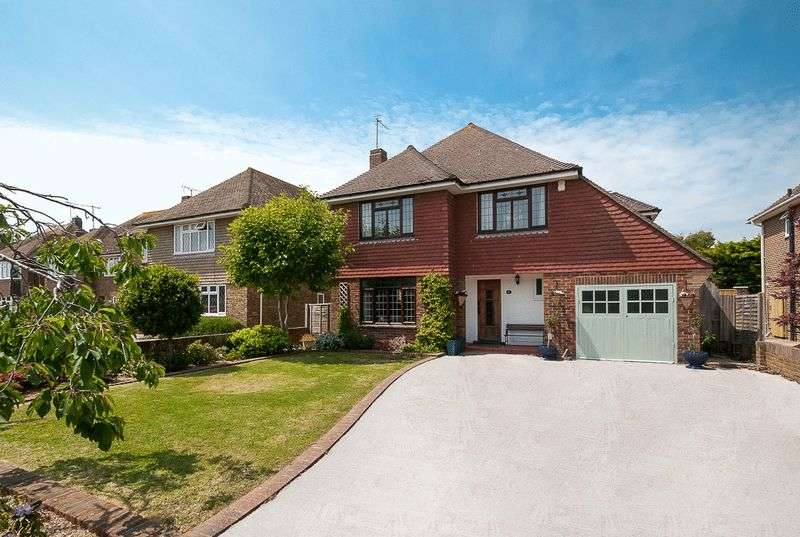 4 Bedrooms Detached House for sale in Withdean Avenue, Goring Hall