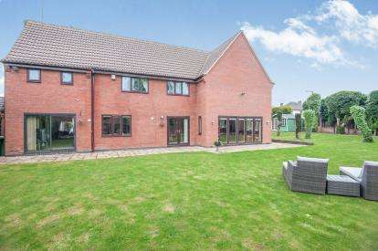 6 Bedrooms Detached House for sale in The Spinney, Mancetter, Atherstone, Warwickshire