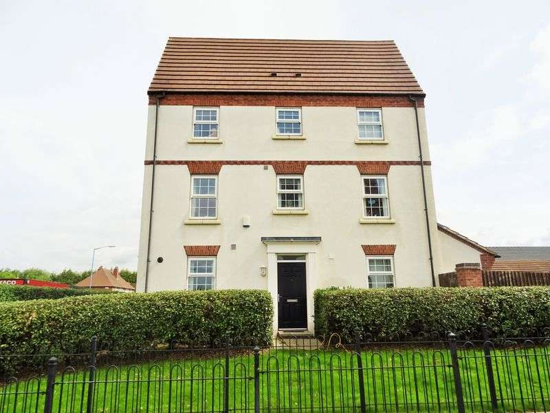 4 Bedrooms Terraced House for sale in Bloomfield Road, Tipton