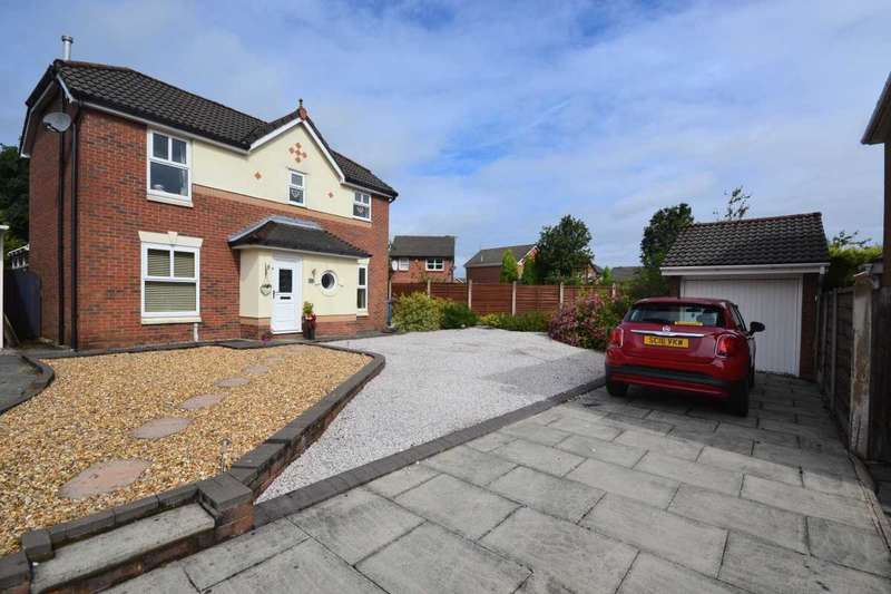 3 Bedrooms Detached House for sale in Skyes Crescent, Winstanley, Wigan