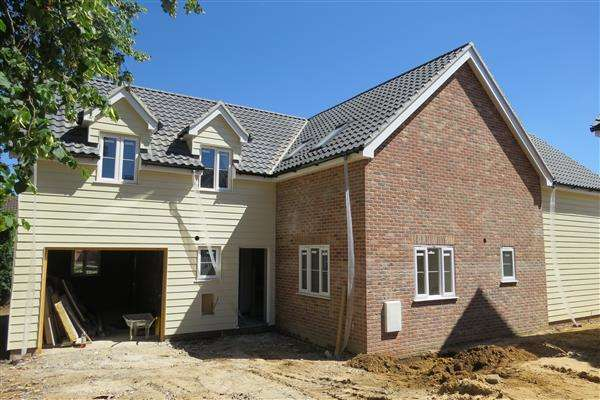 4 Bedrooms Detached House for sale in Bixley Drive, Ipswich
