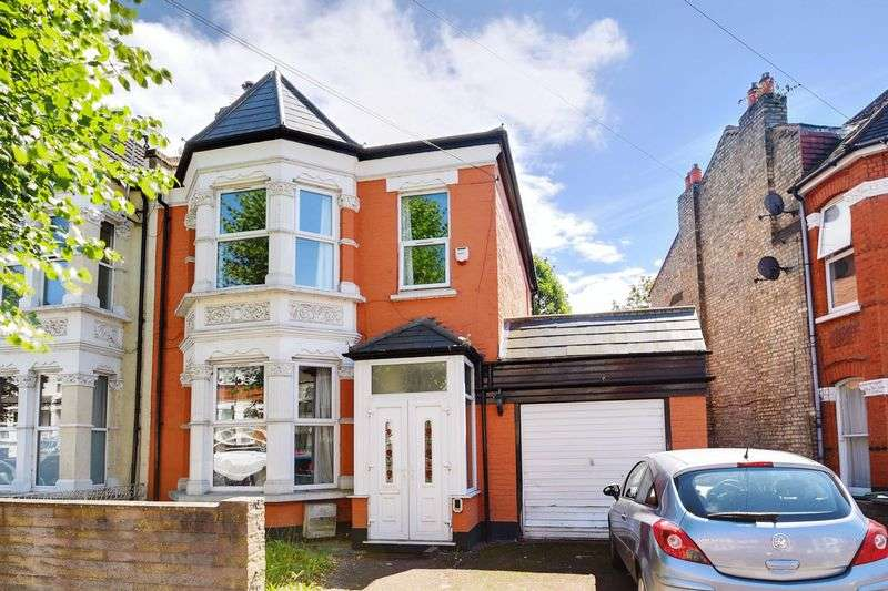 4 Bedrooms Semi Detached House for sale in Palmerston Crescent, Palmers Green, N13