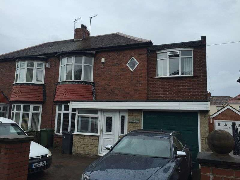3 Bedrooms Semi Detached House for sale in Victoria Road West, Hebburn