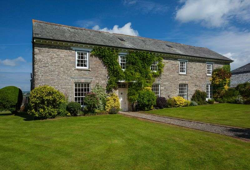 4 Bedrooms Detached House for sale in Horningtops, Liskeard