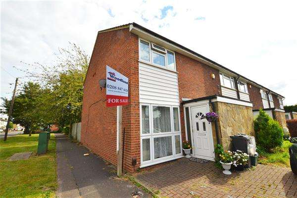 3 Bedrooms End Of Terrace House for sale in Roseheath Road, Hounslow