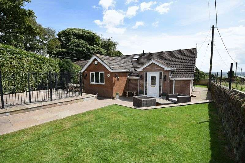 3 Bedrooms Semi Detached Bungalow for sale in Hill Top, Brown Edge