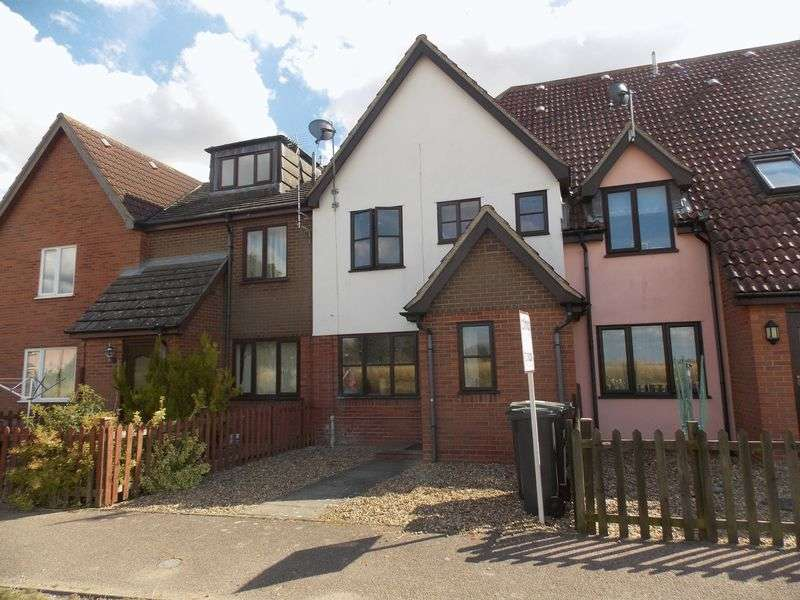 2 Bedrooms Terraced House for sale in Old Schools Court, Elmswell