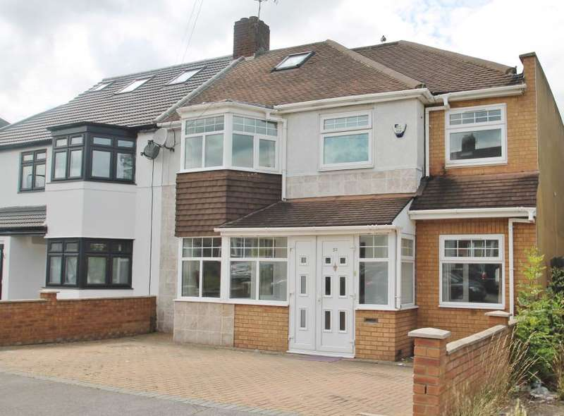 4 Bedrooms Semi Detached House for sale in CHERITON AVENUE, CLAYHALL