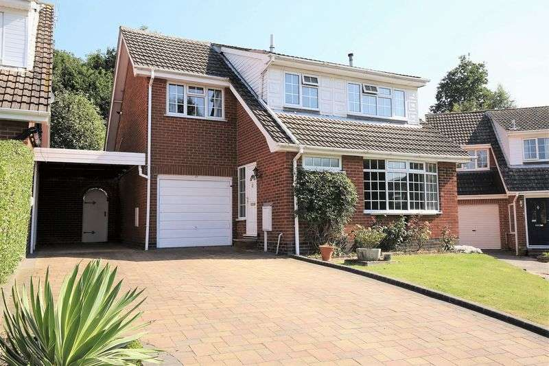 4 Bedrooms Detached House for sale in Wrekin Close, Ashby-De-La-Zouch, Leicestershire LE65 1EX