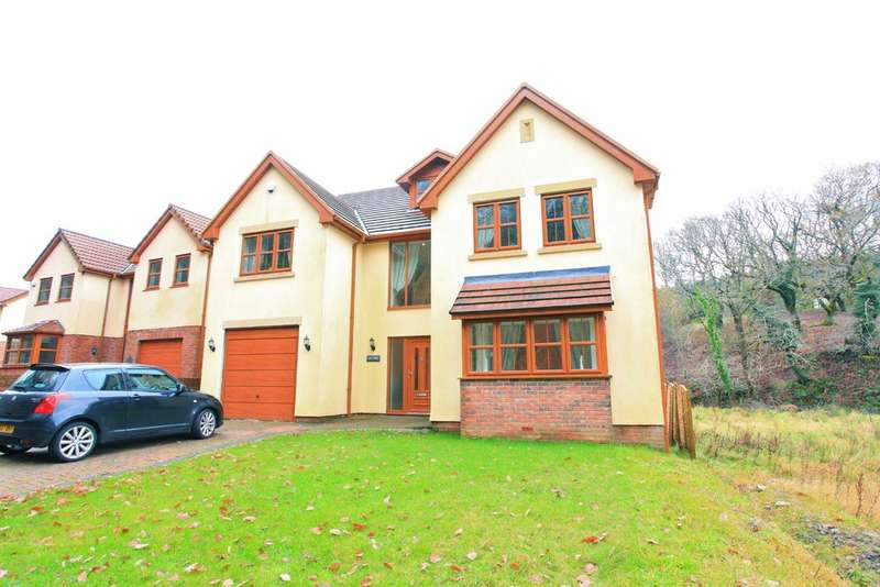 5 Bedrooms Detached House for sale in Varteg Row, Bryn, Port Talbot