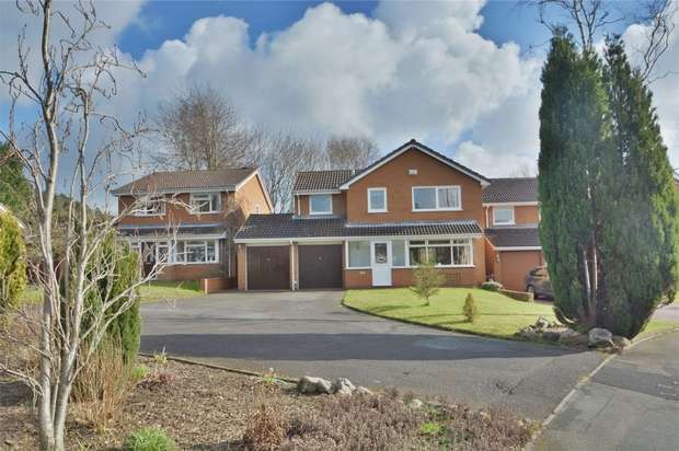 4 Bedrooms Detached House for sale in 33 Lees Farm Drive, Madeley, Telford, Shropshire