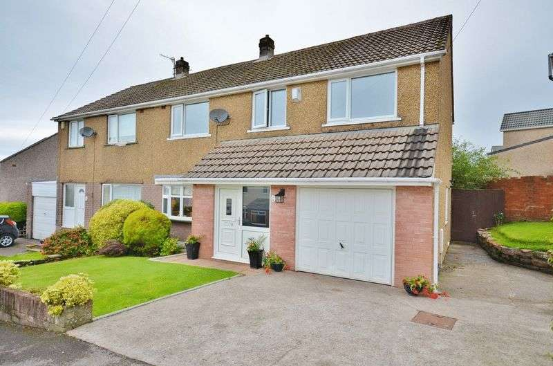 4 Bedrooms Semi Detached House for sale in Headlands Drive, Whitehaven
