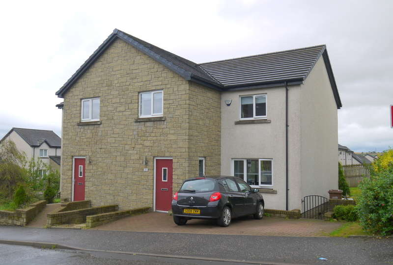 3 Bedrooms Semi Detached House for sale in Croft Street, Tarbolton, Mauchline, KA5
