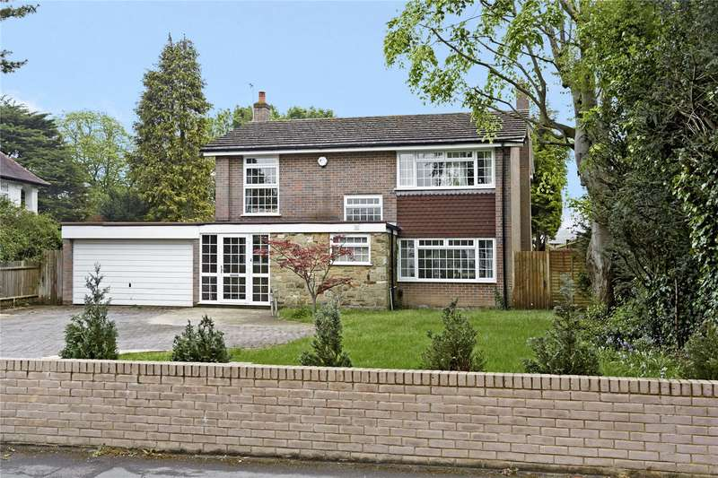 4 Bedrooms Detached House for sale in Longdown Lane North, Epsom, Surrey, KT17