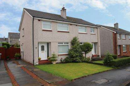 3 Bedrooms Semi Detached House for sale in Rokeby Crescent, Strathaven