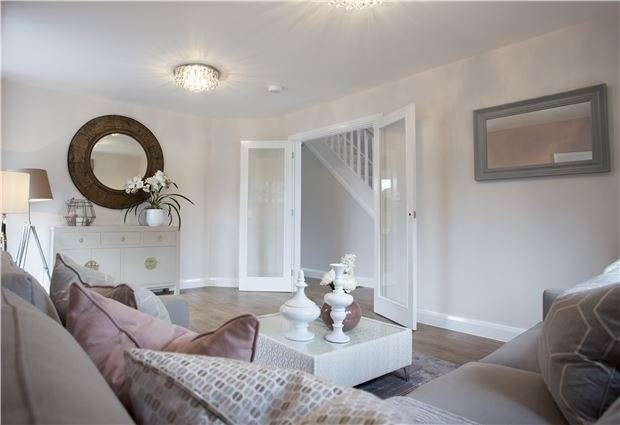 4 Bedrooms Detached House for sale in The Burford+ Princess Way, Badminton Road, Downend, BRISTOL, BS16 6NU