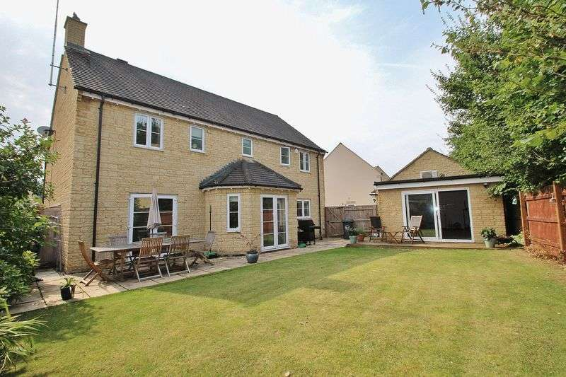 4 Bedrooms Detached House for sale in OAKDALE ROAD, Madley Park, Witney OX28 1AX