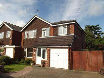 4 Bedrooms Detached House for sale in Hedge End