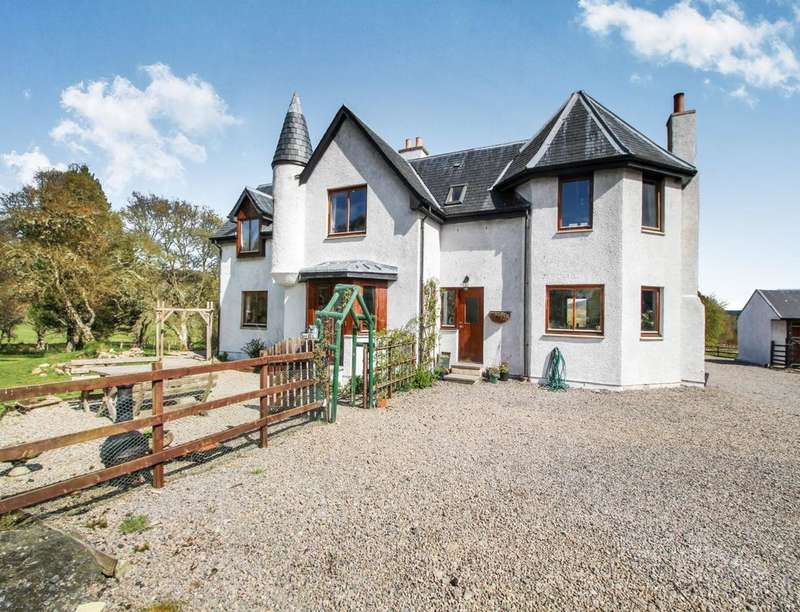 4 Bedrooms Detached House for sale in Marcach Lodge Migdale, Bonar Bridge, Ardgay, IV24
