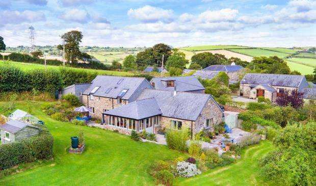 4 Bedrooms Detached House for sale in Lambest Farm, Menheniot, Liskeard, Cornwall