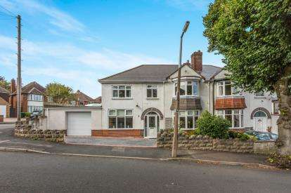 4 Bedrooms Semi Detached House for sale in Charlemont Avenue, West Bromwich, West Midlands