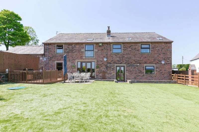 5 Bedrooms Detached House for sale in Leigh Tenement Farn, Blackrod, BL6 5RS