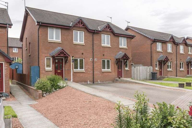 3 Bedrooms Semi Detached House for sale in 8 Colliery Crescent, Newtongrange, Dalkeith, Midlothian, EH22 4AH