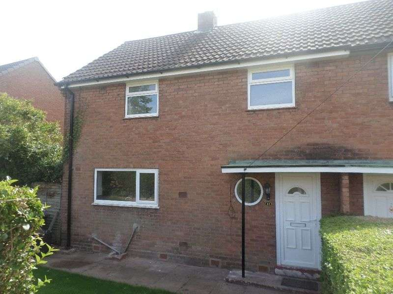 3 Bedrooms Semi Detached House for sale in Valley Road, Overdale, Telford