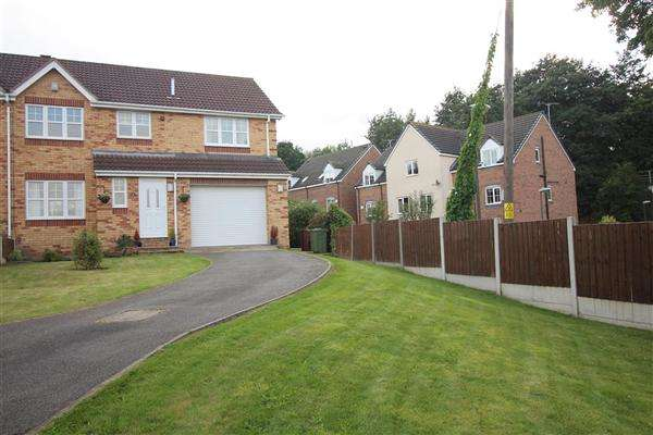 4 Bedrooms Semi Detached House for sale in Gaunt Close, Killamarsh, Sheffield, S21 1SW