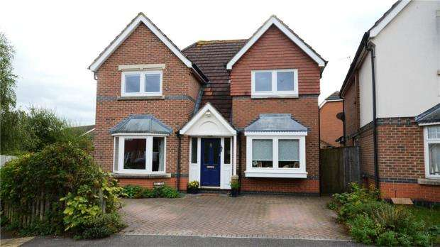 4 Bedrooms Detached House for sale in 8 Hornby Avenue, Bracknell, Berkshire, RG12 7FA