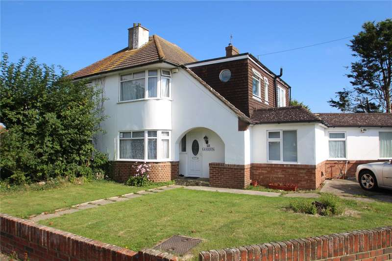 5 Bedrooms Semi Detached House for sale in Monks Avenue, Lancing, West Sussex, BN15